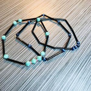 Spiders Web Bracelet Stack